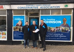 Campaigning in the Sleaford and North Hykeham By-Election - 25th November 2016